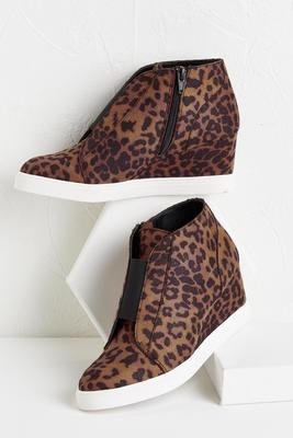 gore front wedge sneakers