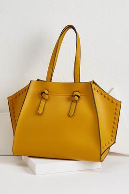 geo shaped tote bag