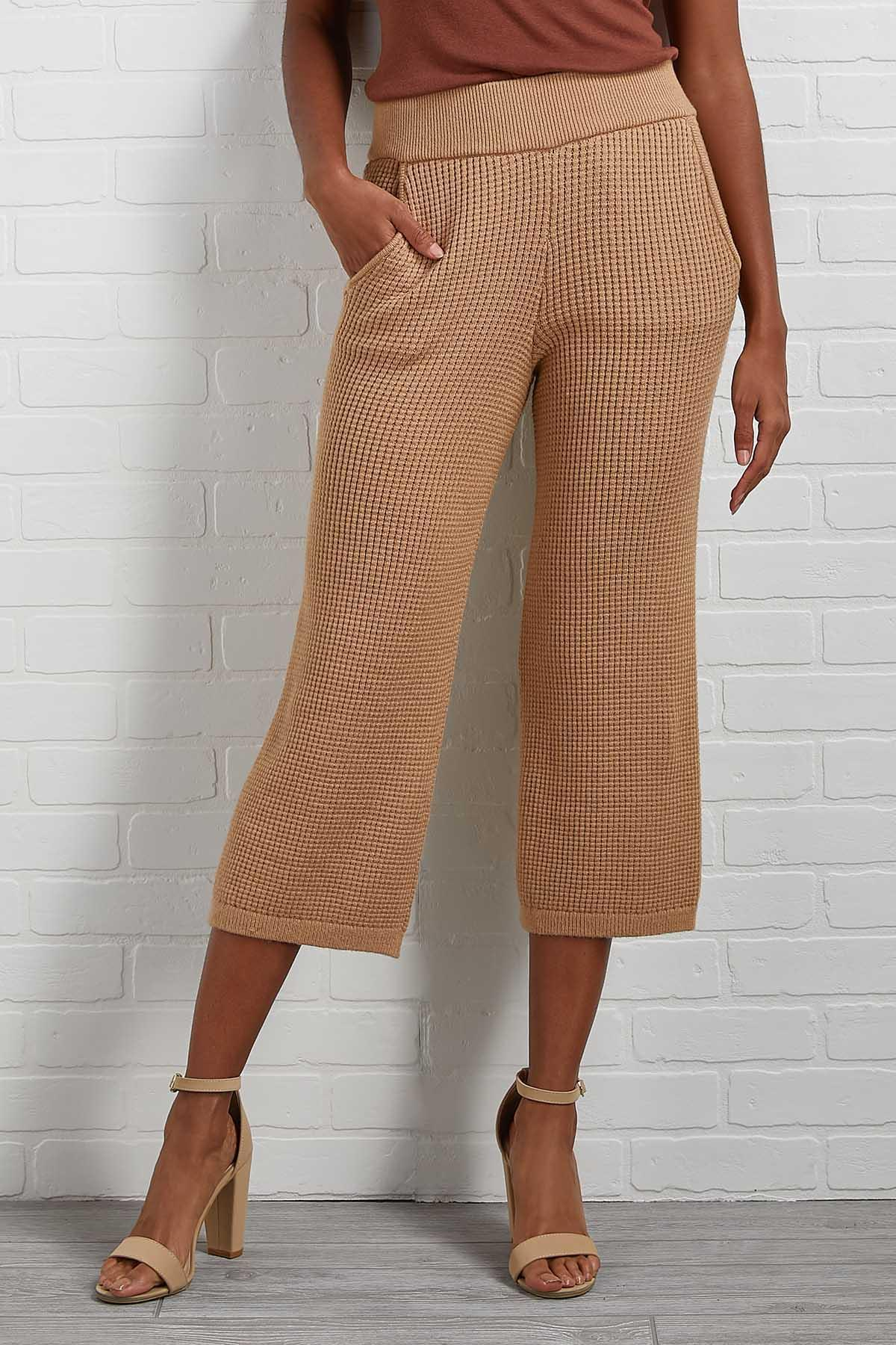 Sew Cozy Cropped Pants