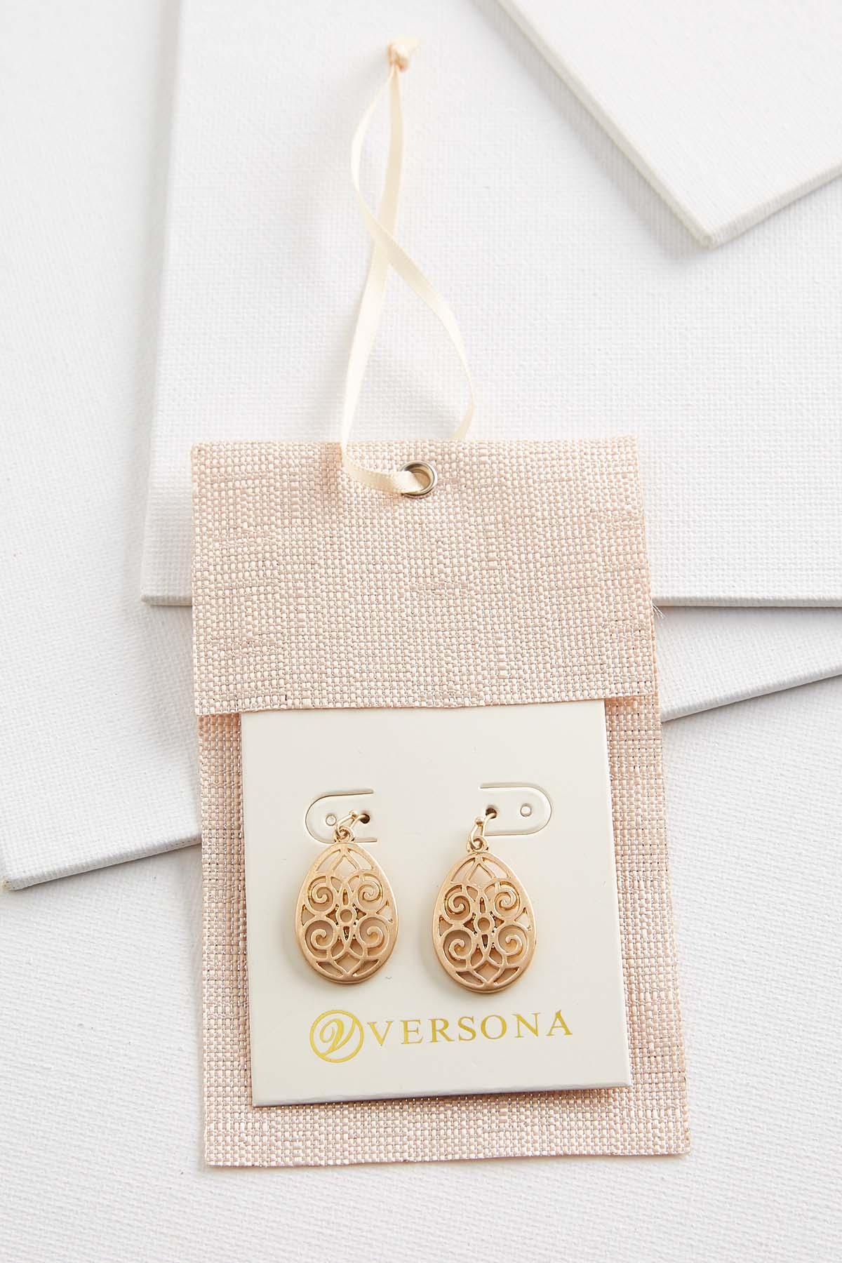 Filigree Earring Gift Ornament