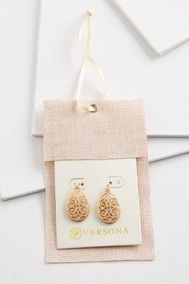 filigree earring gift ornament