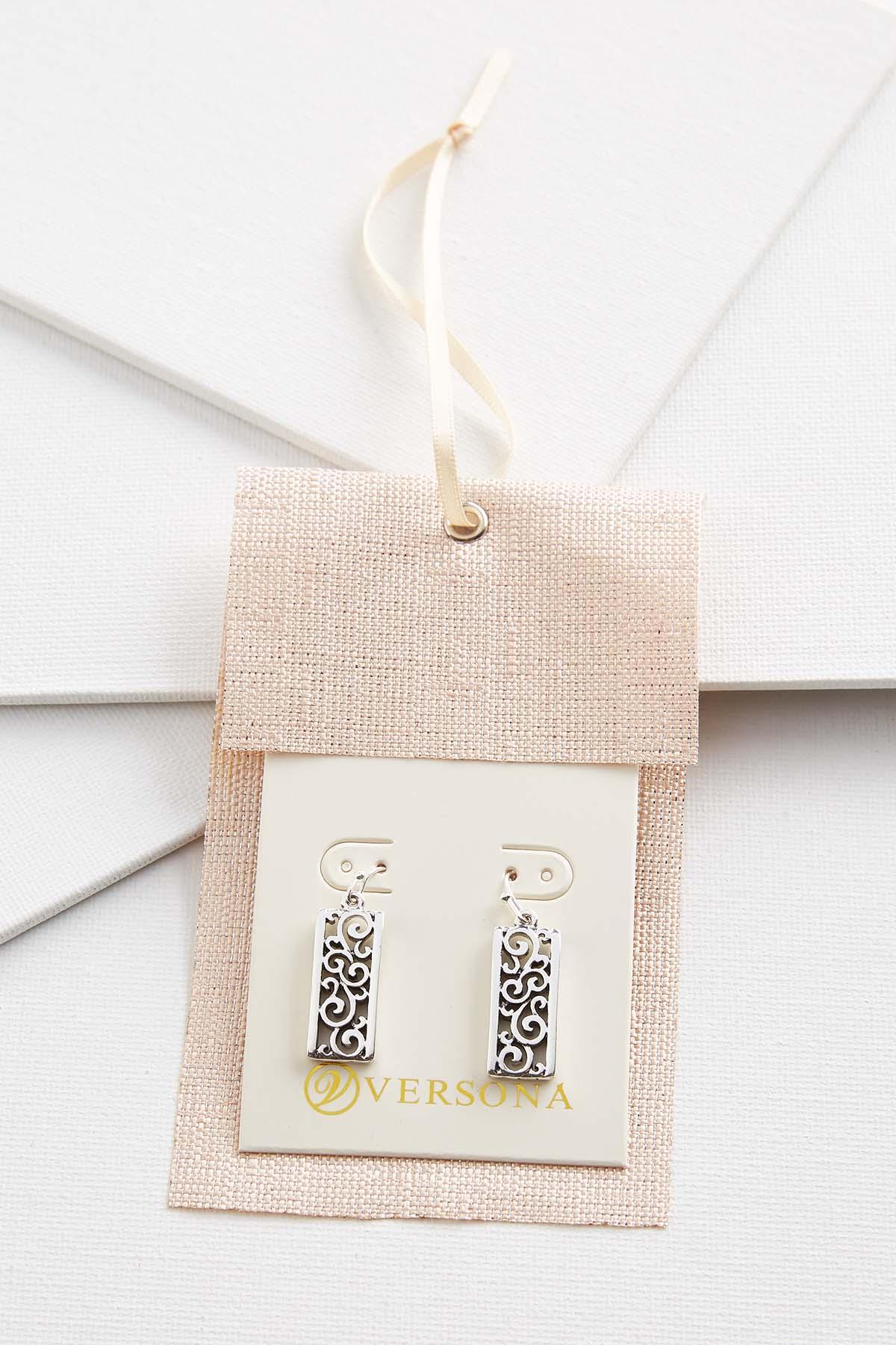 Filigree Bar Earring Gift Ornament
