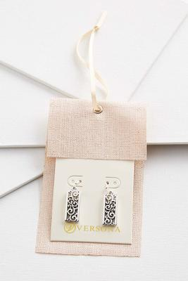 filigree bar earring gift ornament