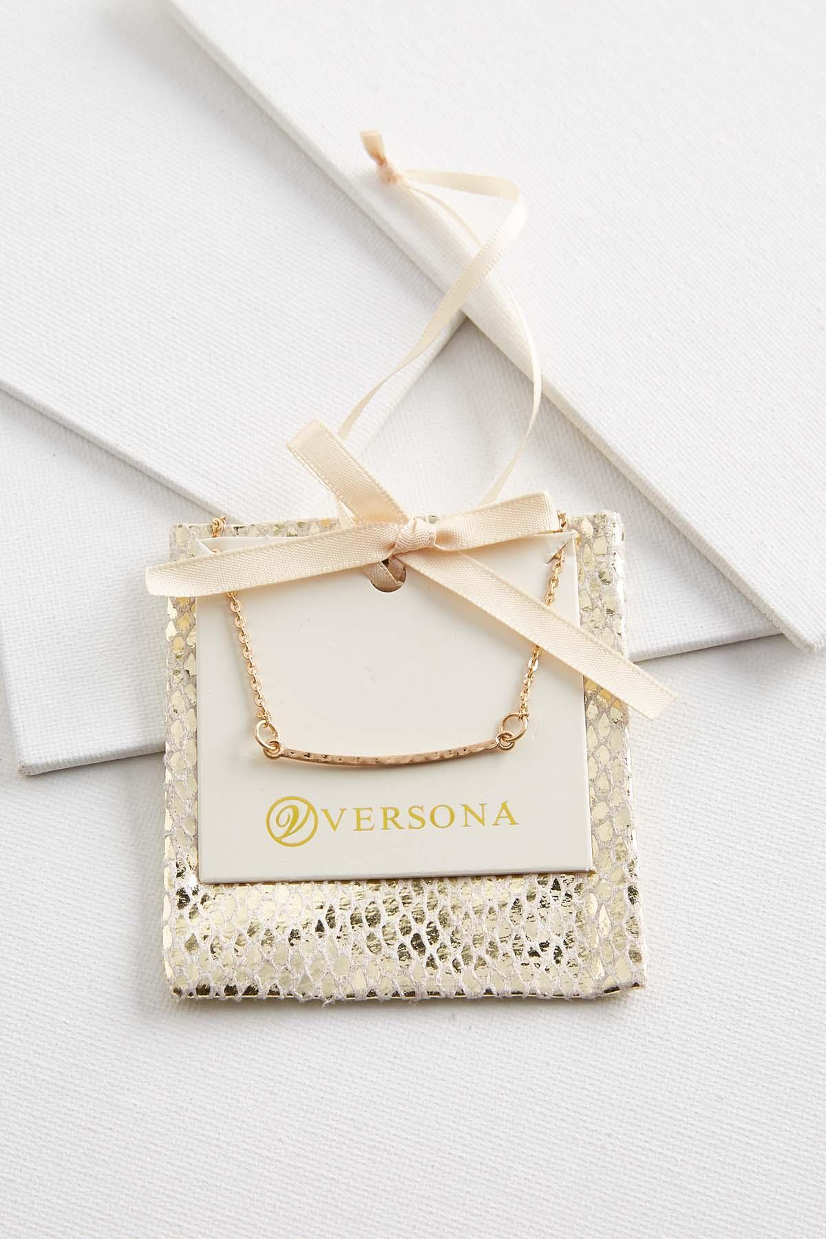 Bar Pendant Necklace Gift Ornament