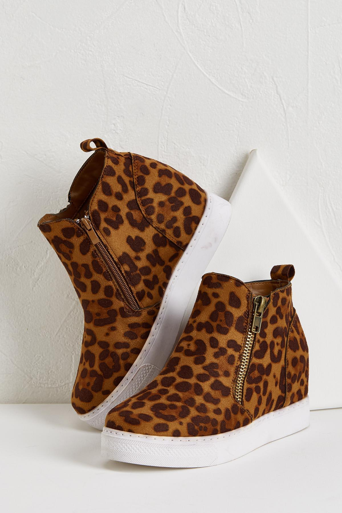 Wild About Wedge Sneakers