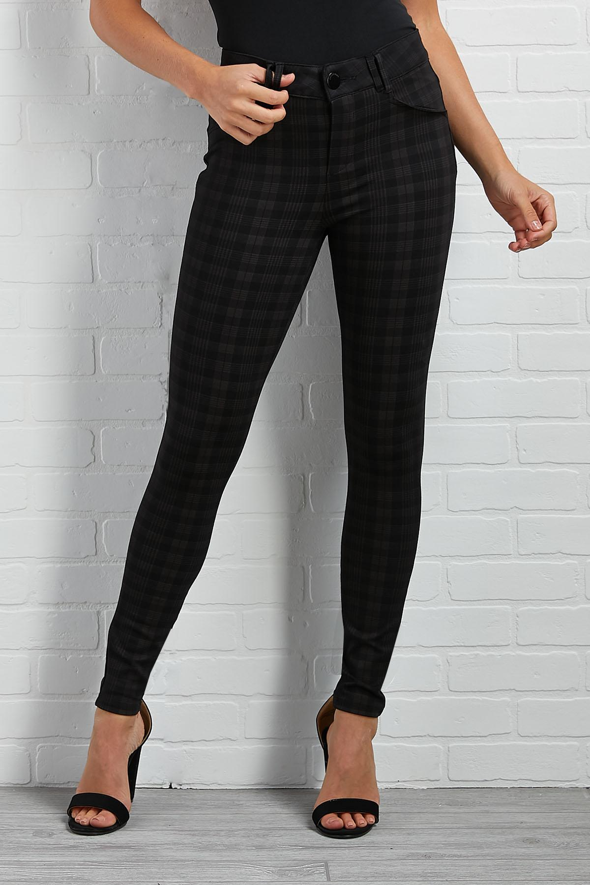 Plaid To Be Here Pants