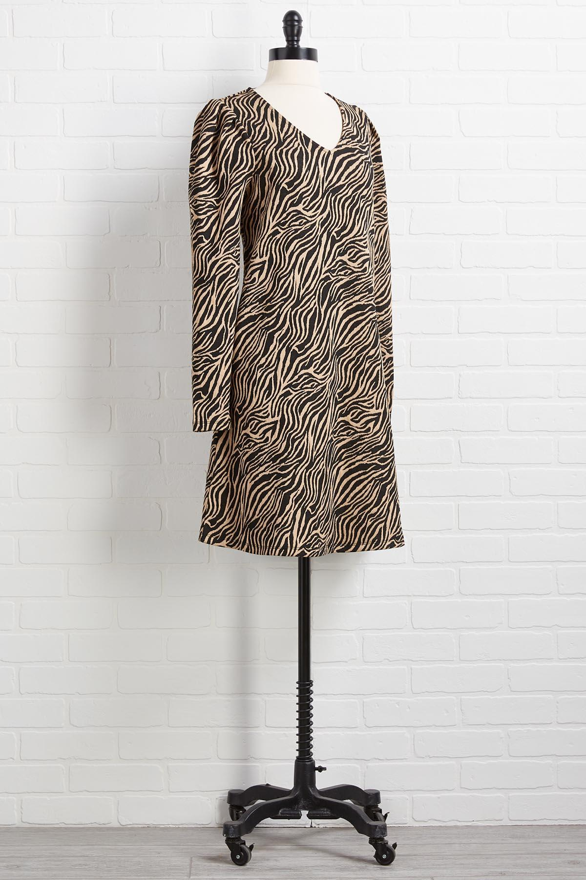 Drive Me Wild Shift Dress