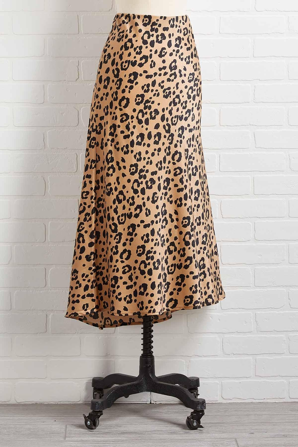 Top Cat Midi Skirt