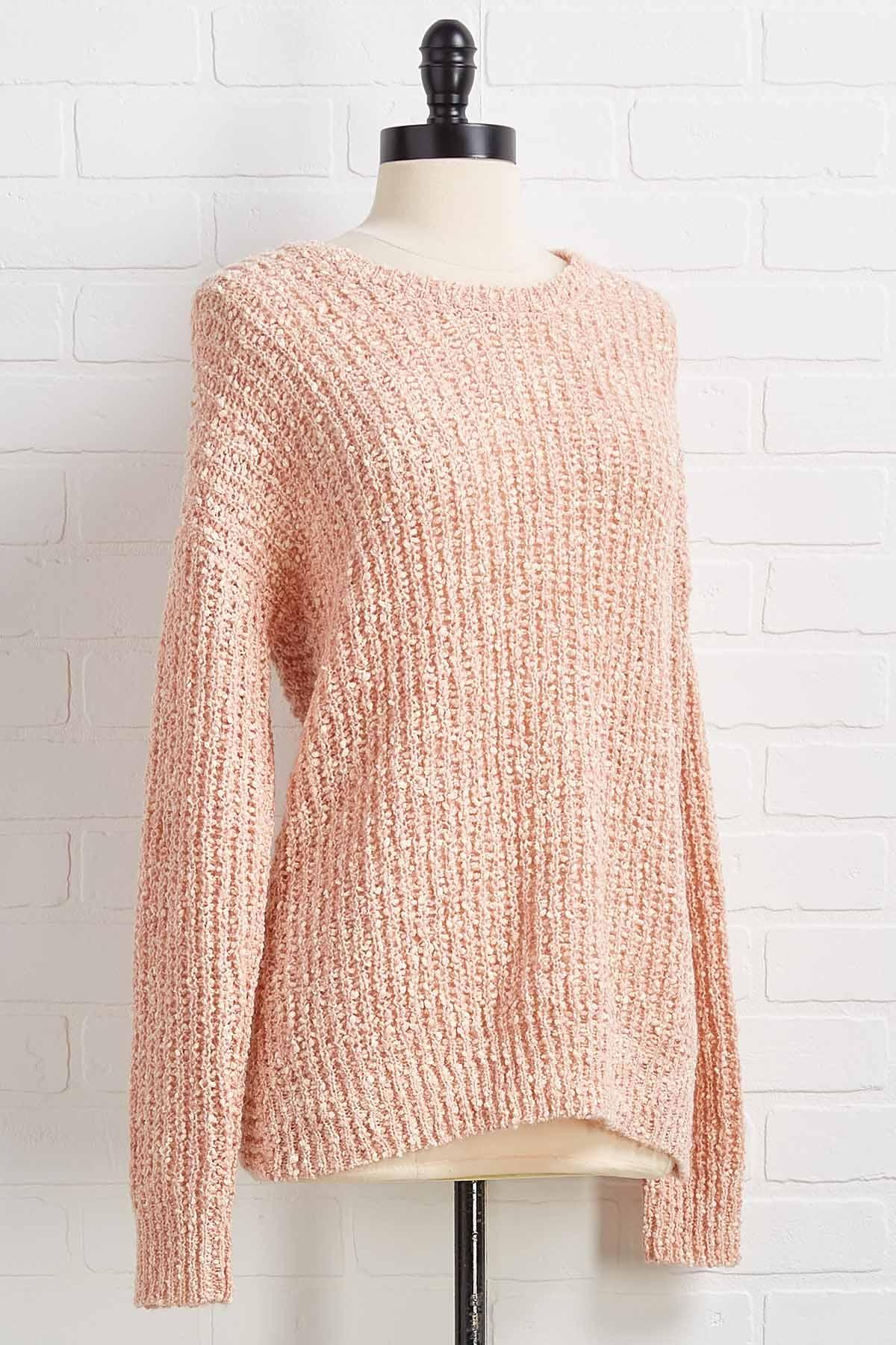 Twist My Words Sweater