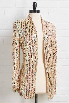 single ladies sequin blazer