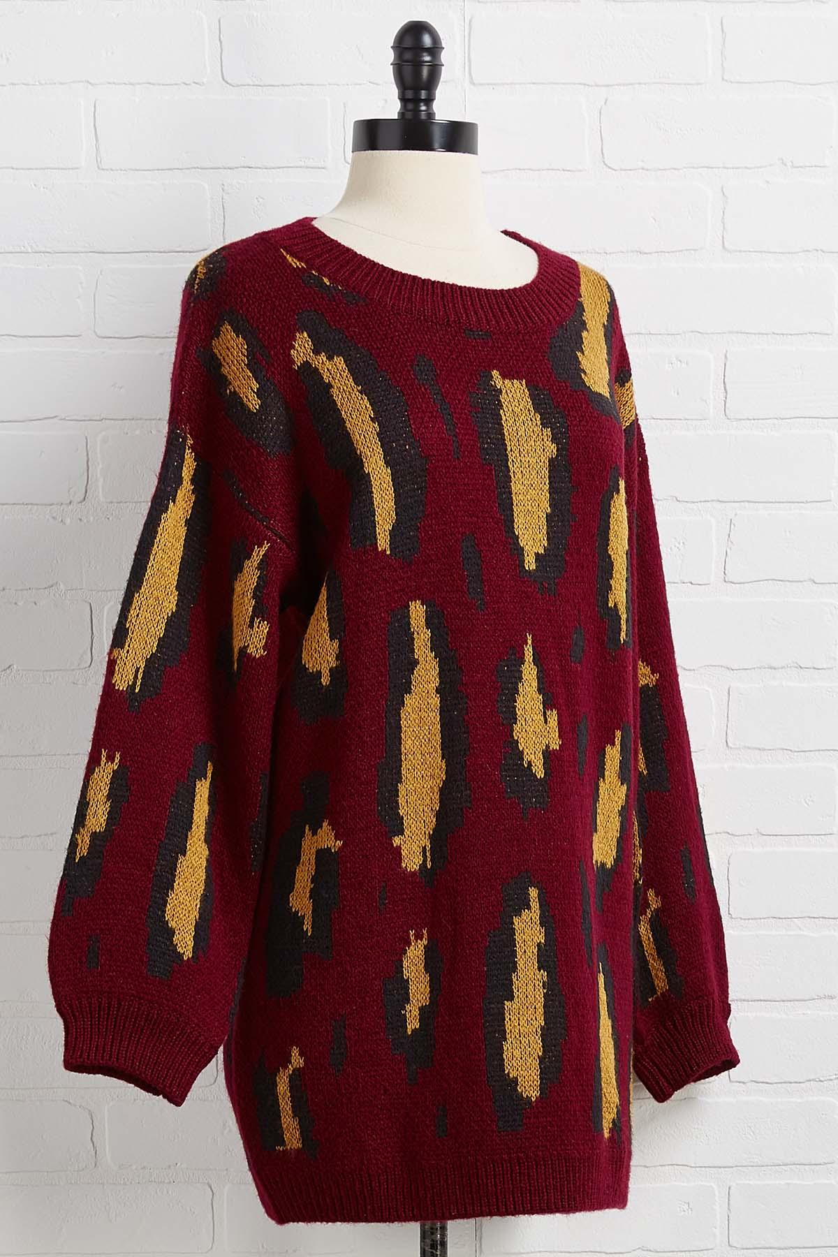 Rise And Wine Sweater