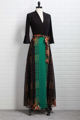 it`s a long story maxi dress