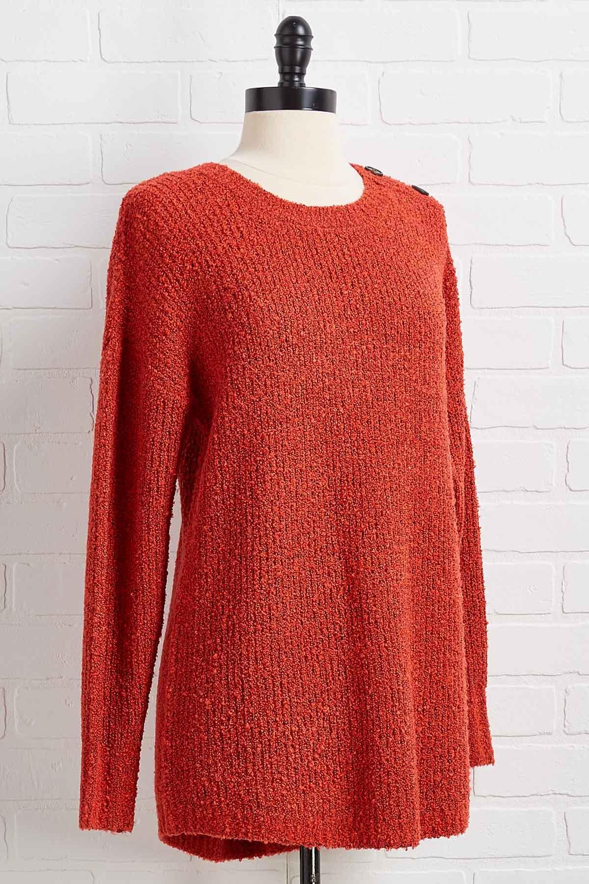 Plush Comes To Shove Sweater