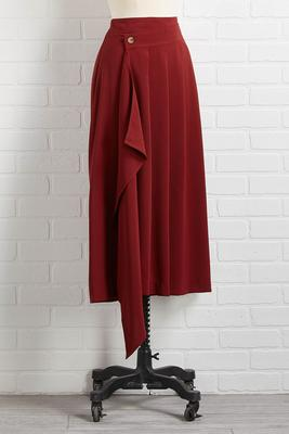 wine and dine midi skirt