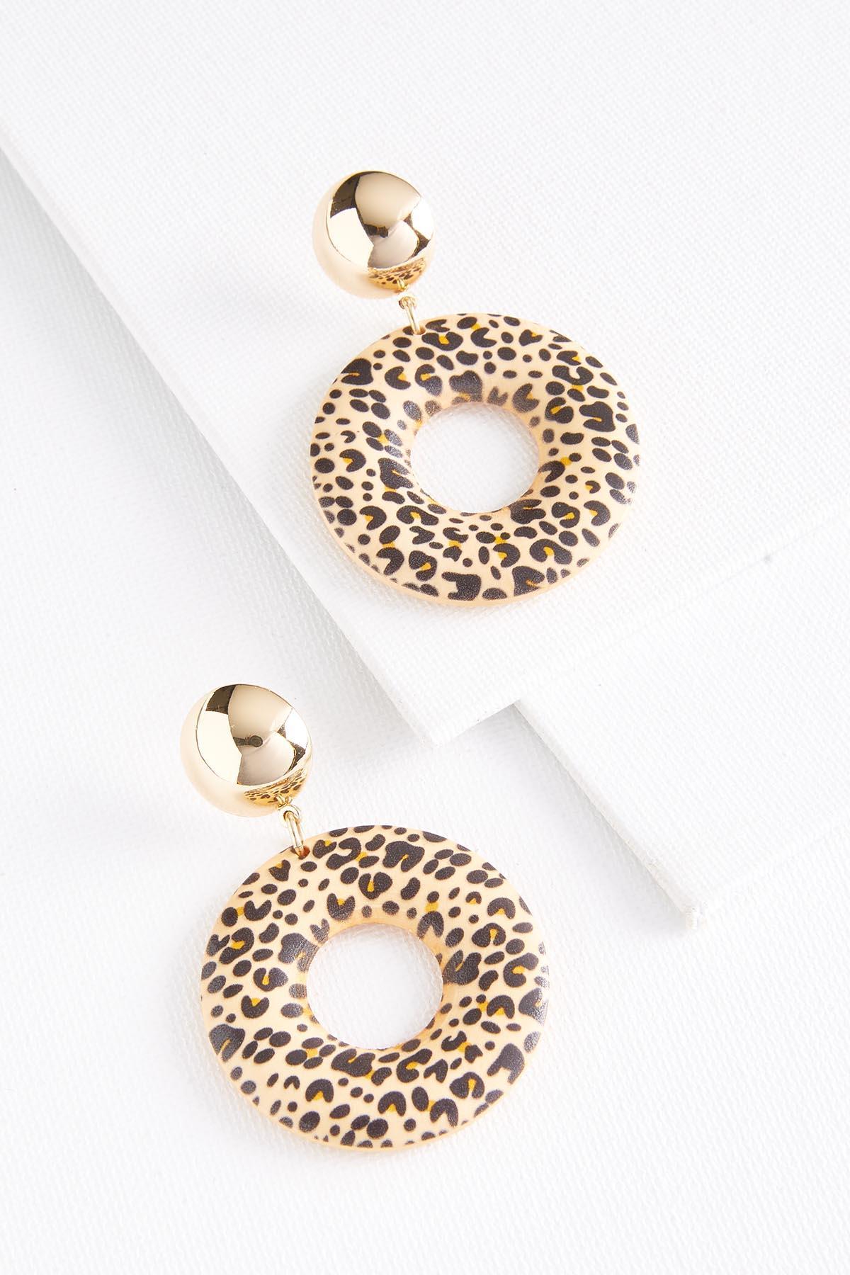 Animal Donut Earrings