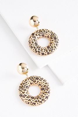 animal donut earrings