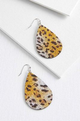 animal tear earrings