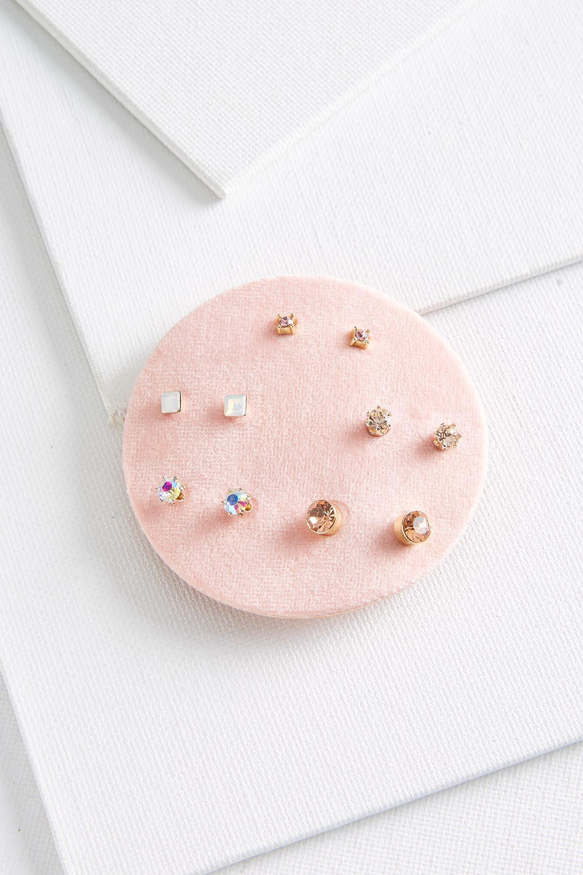Tiny Gold Stud Set