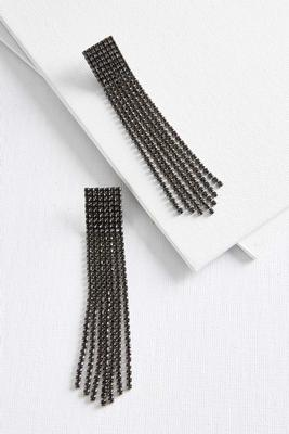 bling fringe earrings