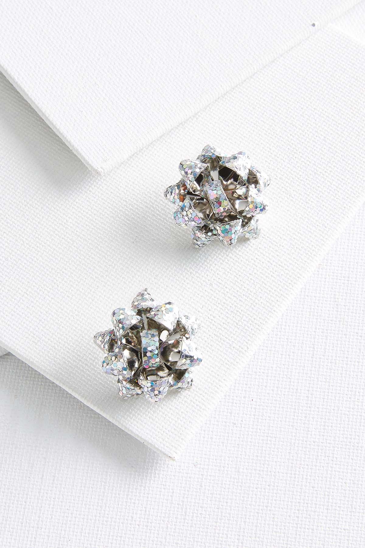 Sparkle Bow Earrings