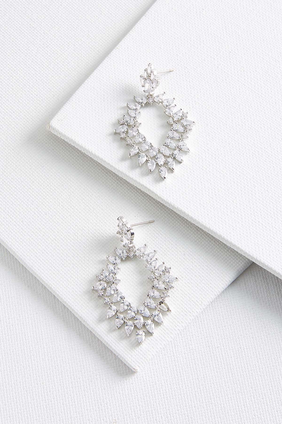 Cluster Chandelier Earrings