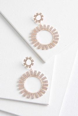 burst of bling earrings