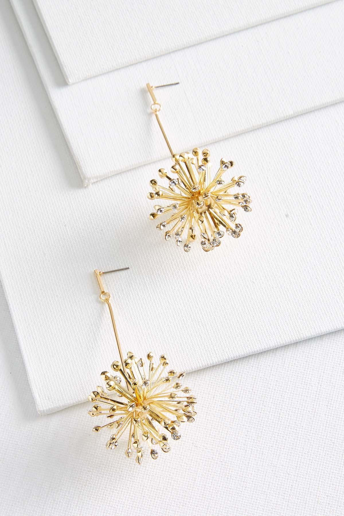 Glimmering Sunburst Earrings
