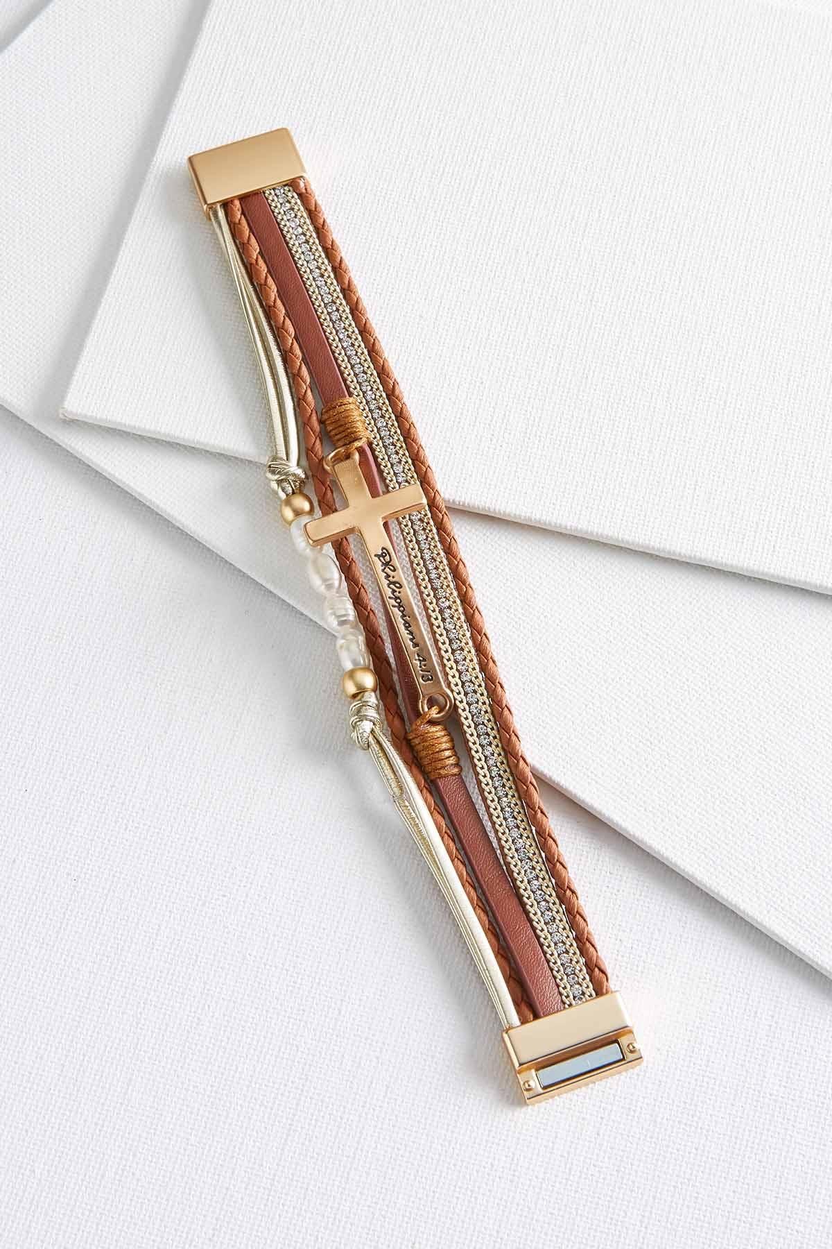 Faith Magnetic Bracelet