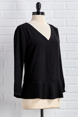 easy to pleats top