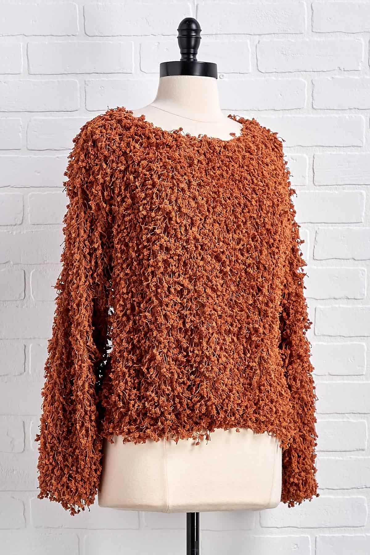 Tell It Like Knit Is Sweater