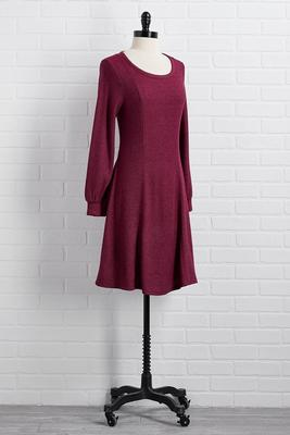 it`s a date fit and flare dress