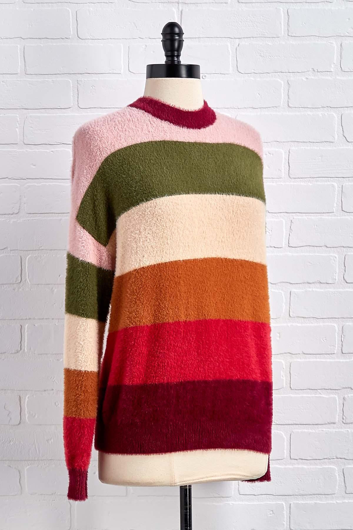 Stripe Back At Ya Sweater