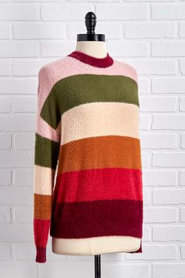 stripe back at ya sweater