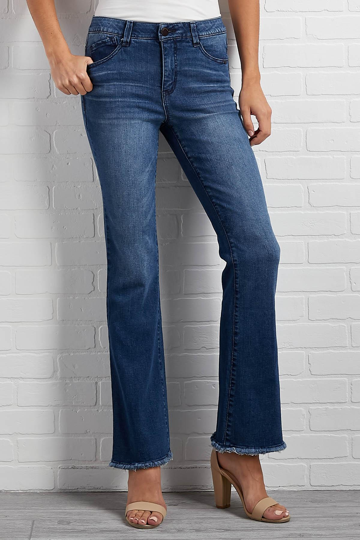 Living On A Flare Jeans