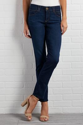 shape enhancing skinny jeans