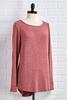 Suede And Solids Top