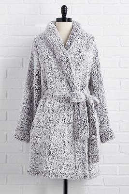 out-of-office cozy robe