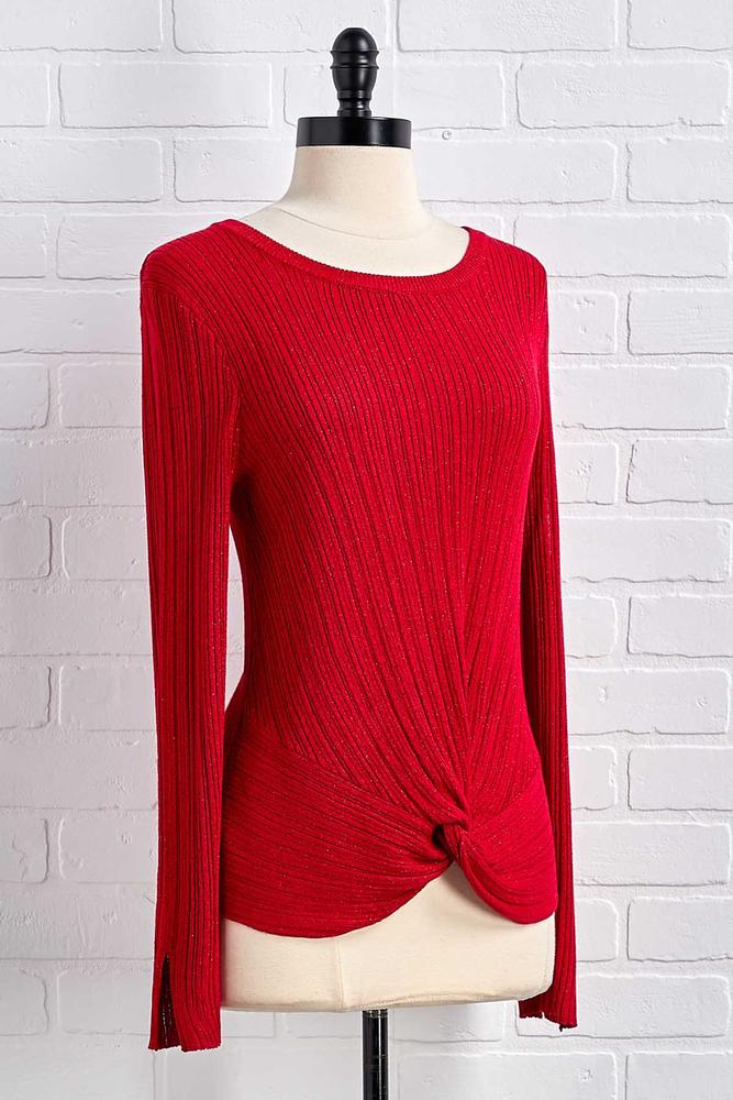 Shimmer And Skimmer Sweater
