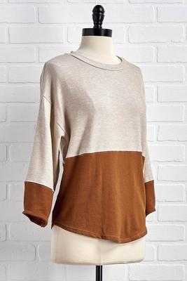 pumpkin spice button top
