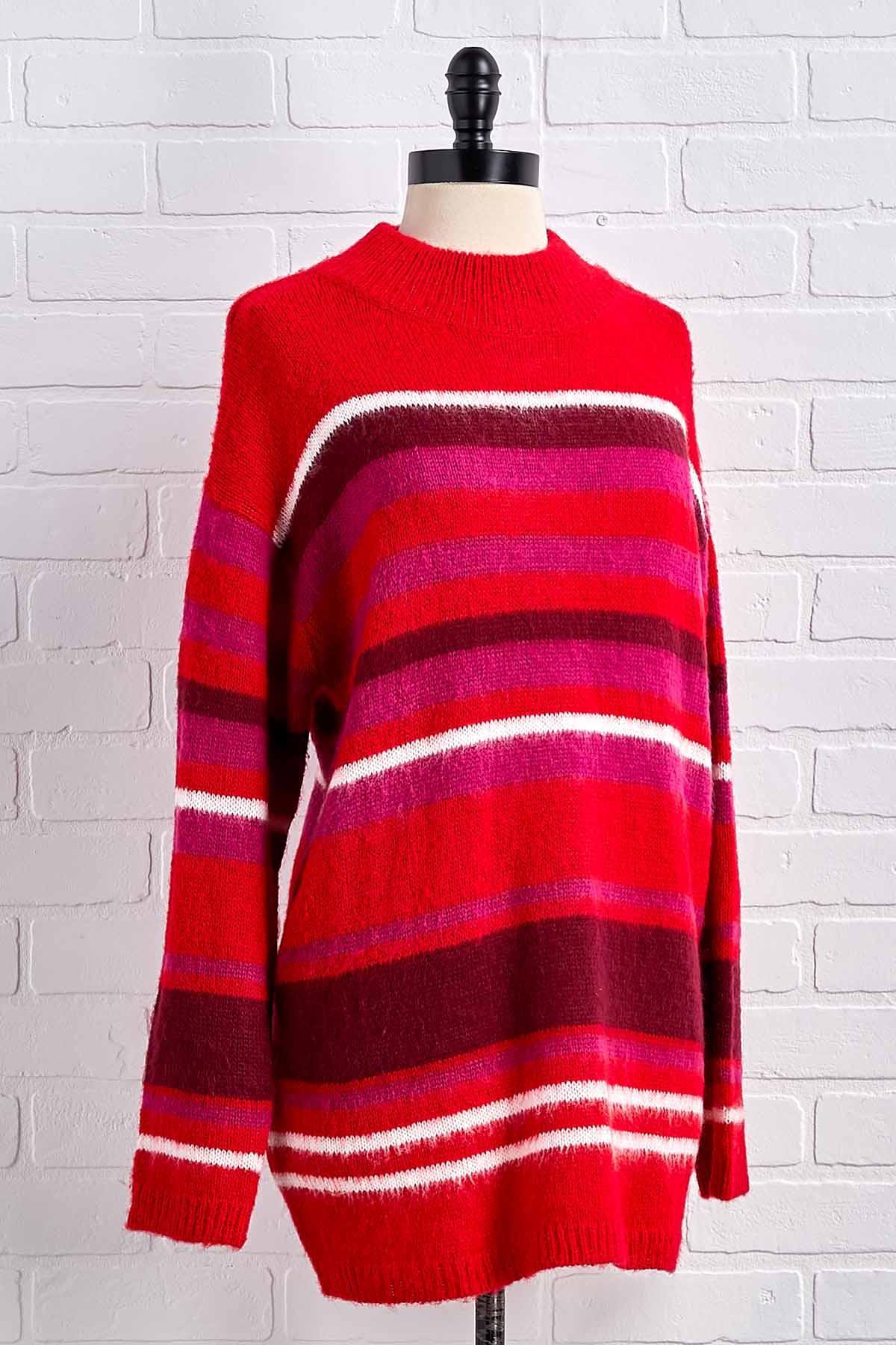 Candy Cane Stripe Sweater