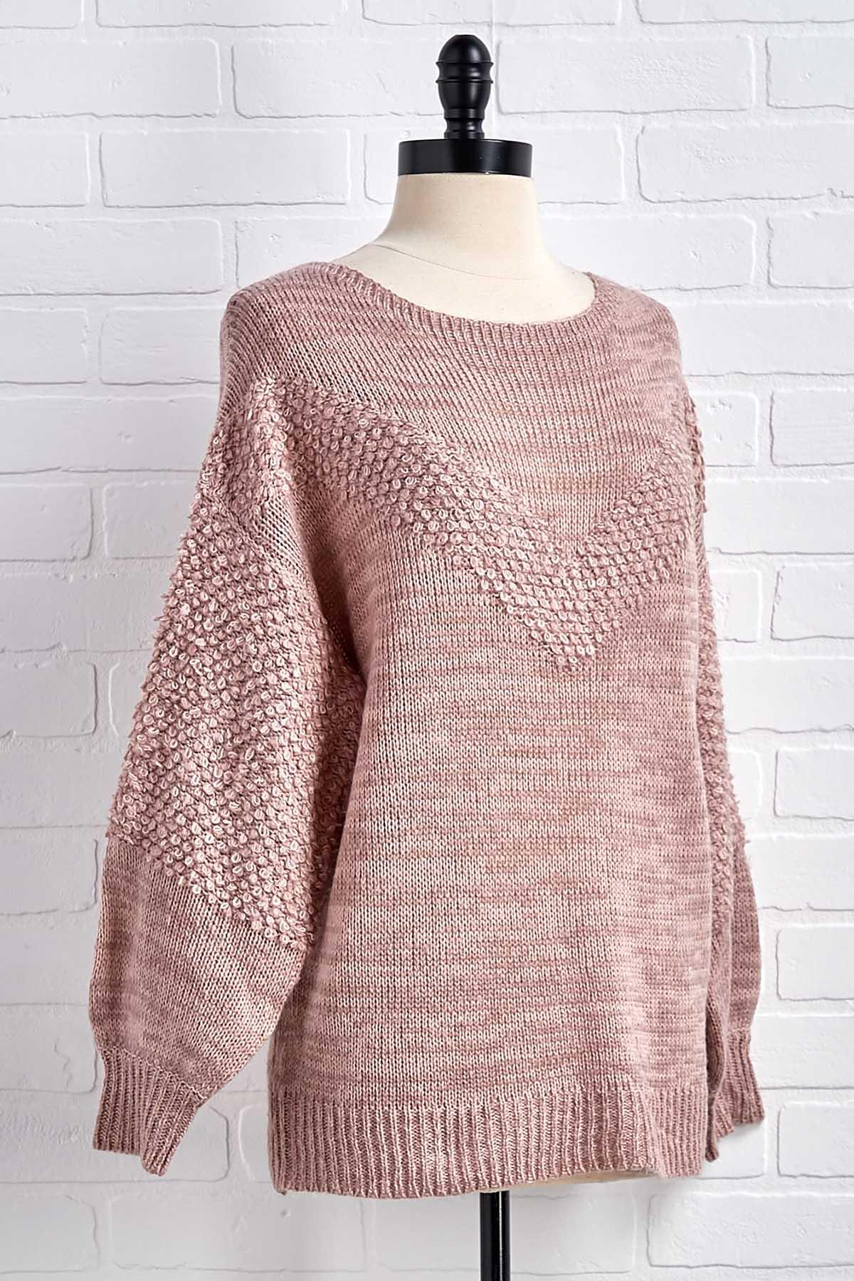 So Over Knit Sweater