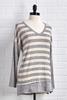 Striped Tunic Top