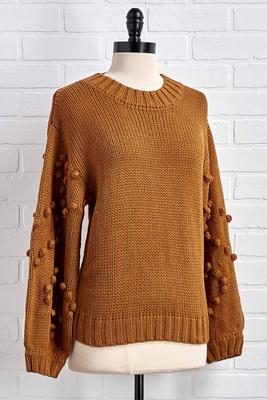 caramel coffee please sweater