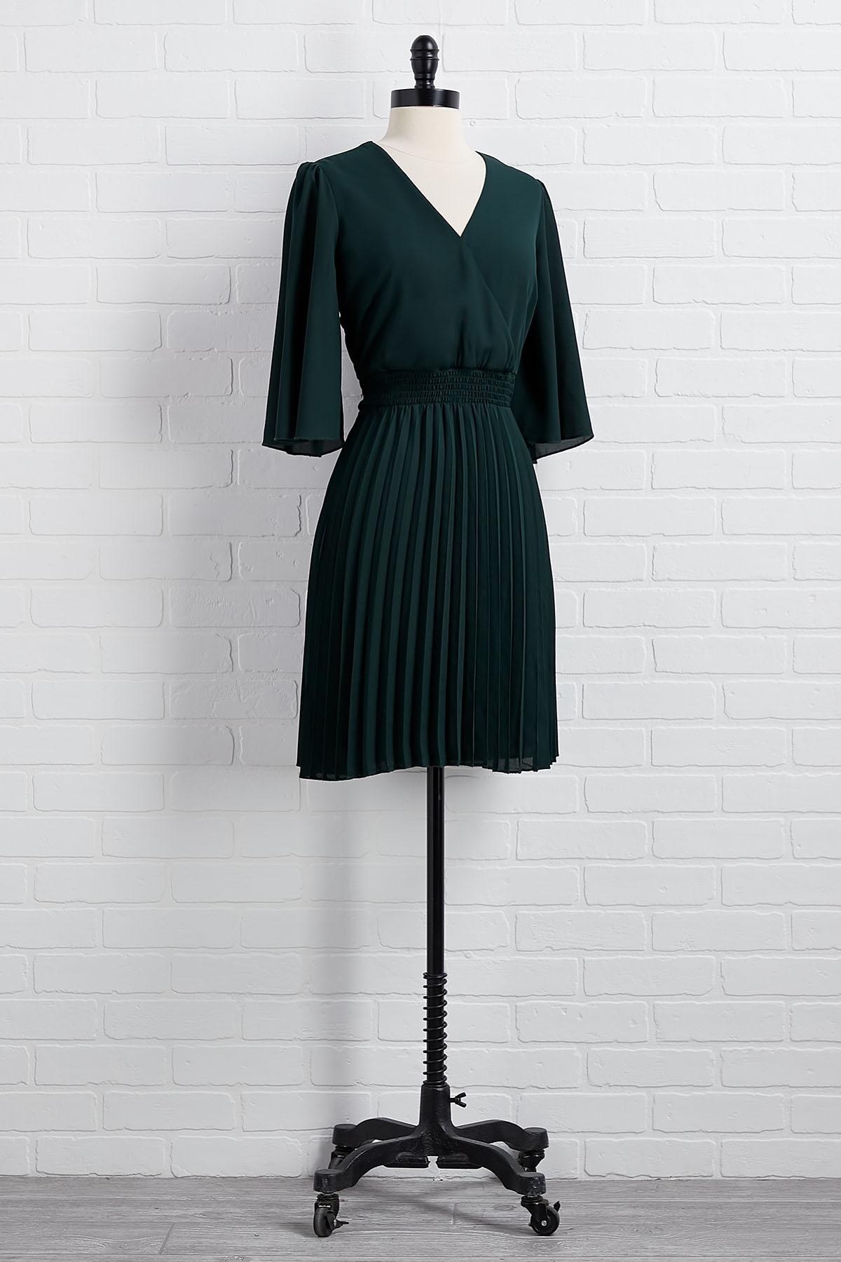 The Pleat Is On Dress