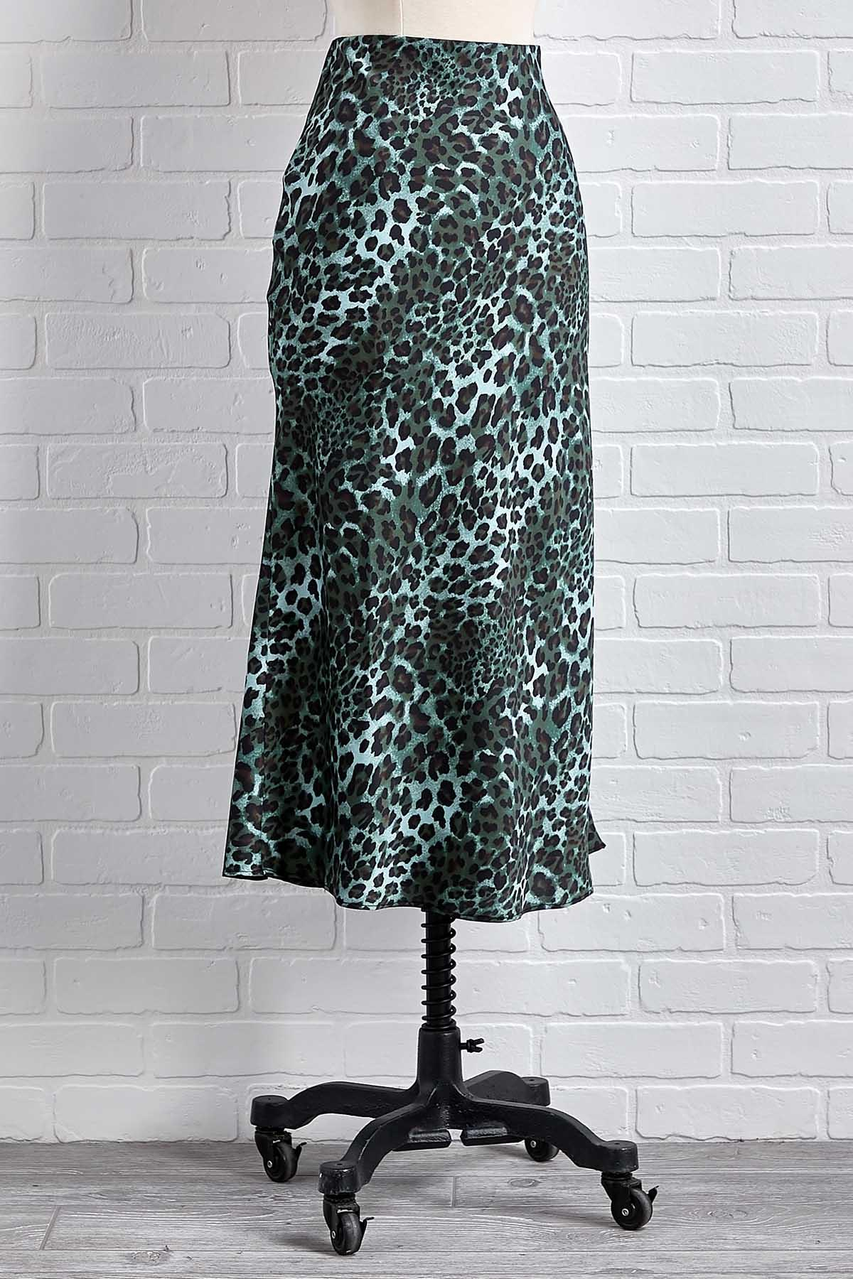 Wild About Green Skirt