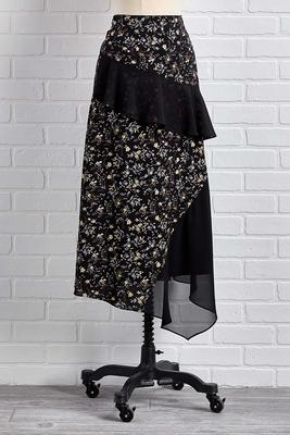 tiers of joy midi skirt