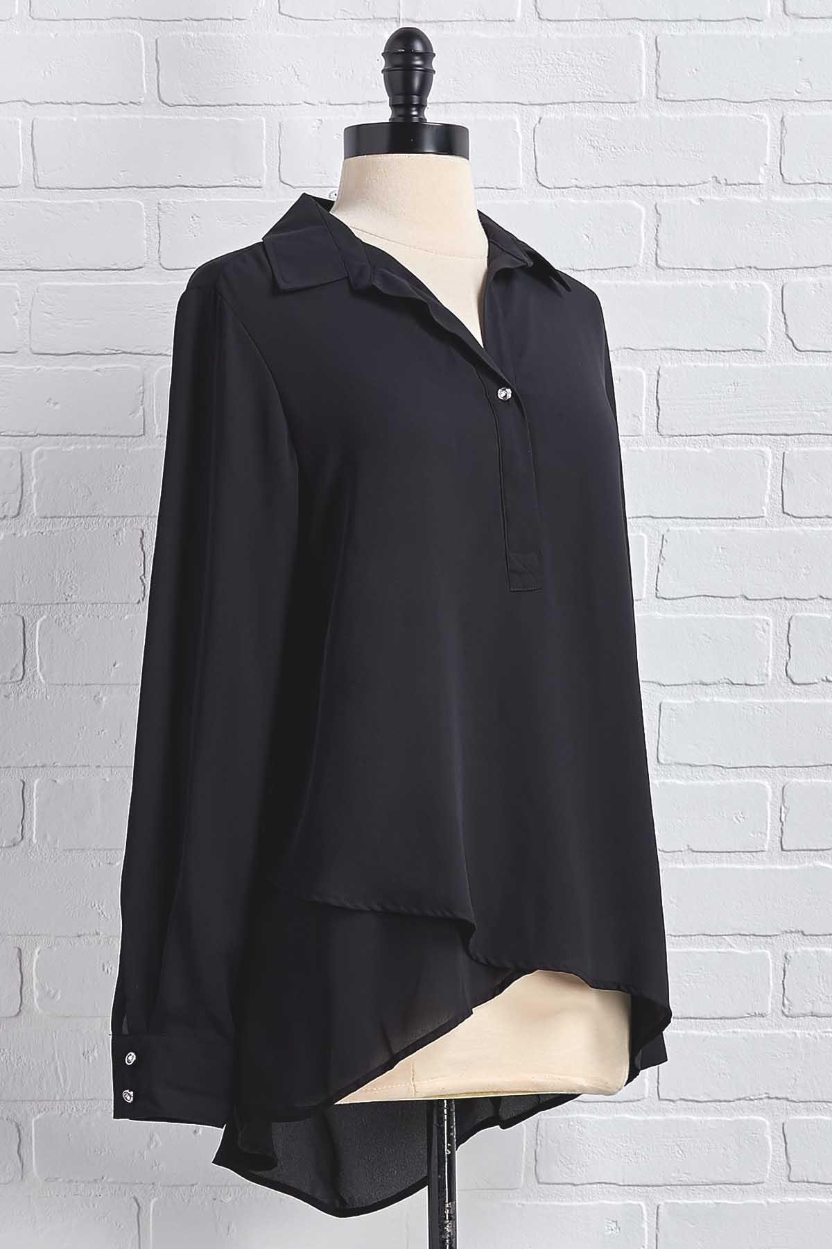 Bling On The Buttons Tunic