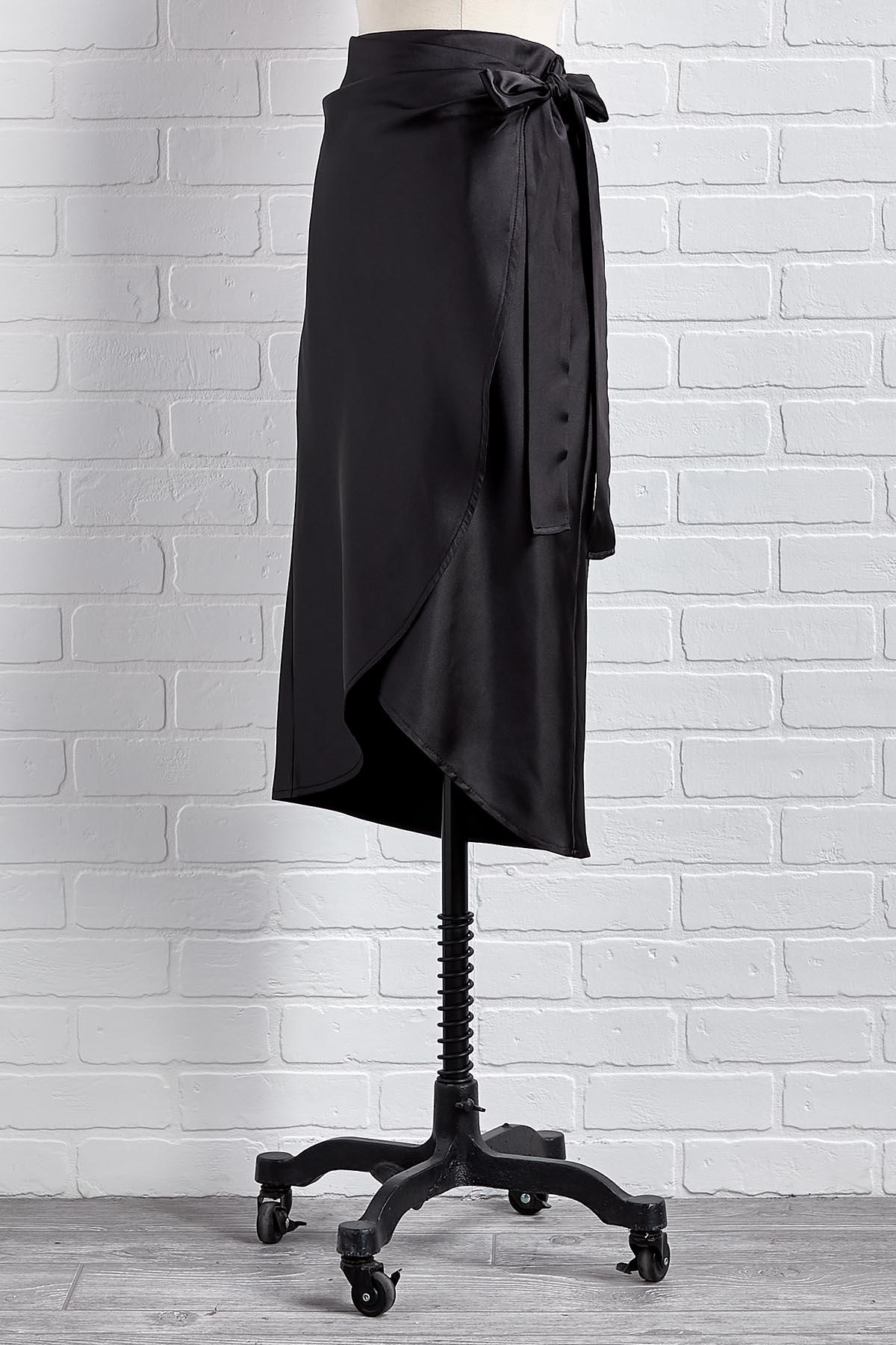 Table For Two Midi Skirt