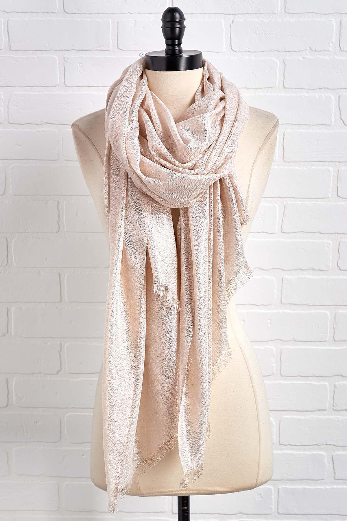 Gold And Glimmer Wrap