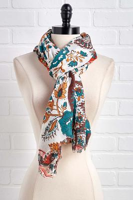 autumn spice scarf